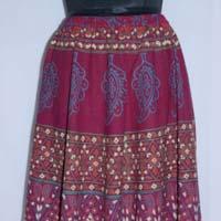 Umbrella Long Skirt For Women