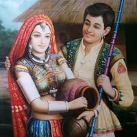 Rajasthani Oil Paintings