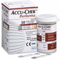ACCU-CHEK Performa 50 Blood Sugar Level Testing Kit