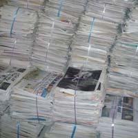 Old Newspaper Onp Scrap