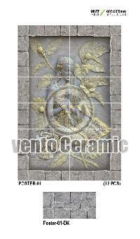 300X600 Poster Series Wall Tiles