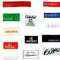 Woven Edge Labels