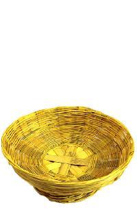 Fruit Bowl Handmade From Bamboo
