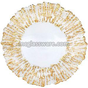 glass charger plates wholesale