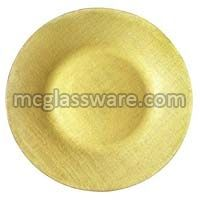 Pamuk Gold Glass Charger Plates
