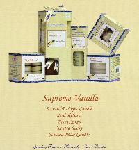 Satya Vanilla Home Fragrancing Products