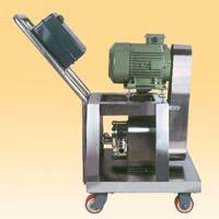 Lobe Pump With Belt Drive Trolley
