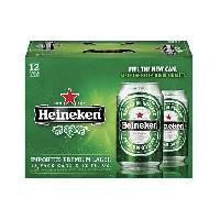 Heineken Premium Lager Cans Beer