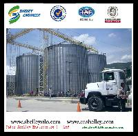 2000t Grain Steel Silo For Wheat Storage Silos