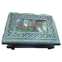 Oxidized Silver Jewellery Box