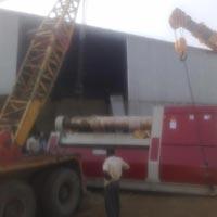 Unloading Crane Rental