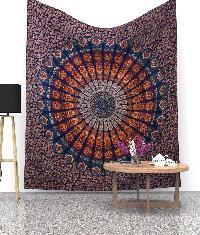 screen printed tapestry