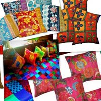 Indian Vintage Kanth Designer Five Piece Set Kantha Cushion..