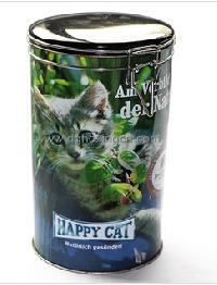 Pet Food Tin Container