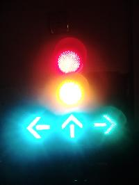 Electric Traffic Signal Lights
