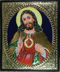 Jesus Christ Tanjore Paintings