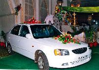 Car Flower Decoration Service