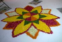 Rangoli Flower Decoration