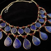 Caliope Lapis Necklace