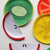 Fruit Paper Plates