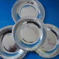 Silver Coated Paper Plates