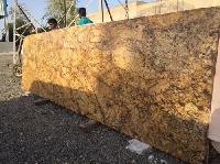 Indian Azul Gold Granite Stone