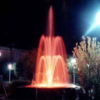 Three Stage Jet Fountains