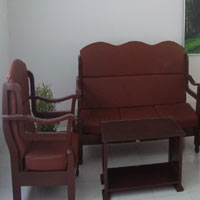 Rubber Wood Sofa Set