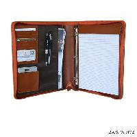 Leather Portfolio A4 File Paper Folder