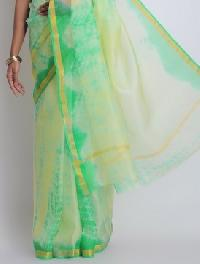 Nylon Dyed Saree