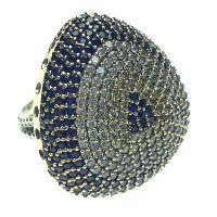 925 Sterling Silver Evil Eye Ring