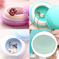 Designer Macaroon Jewelry Box