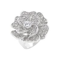 Fabulous Flower Cocktail Ring