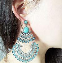 Royal Indian Jhumka Earrings