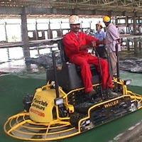 Ride On Trowel Flooring Work