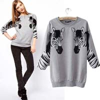 Ladies Round Neck Sweaters