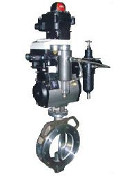 Pneumatic Operated High Performance Butterfly Valve
