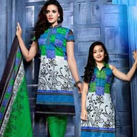 Cotton Printed Churidar Suits
