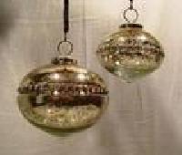 Christmas Silver Hangings
