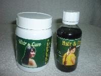 Hair & Care ( 100% Pure Herbal Hair Wash Powder )