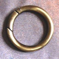 Metal Bag Rings