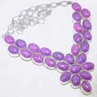 Turquoise Necklace Handmade Gemstone Jewelry