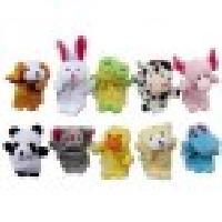 Adorable Plush Cartoon Animal Finger Puppets