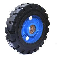 Rubber Bonded Ci Wheels
