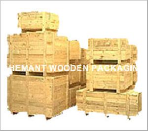 Heavy Machinery Packaging Box Manufacturer Offered By Hemant Wooden