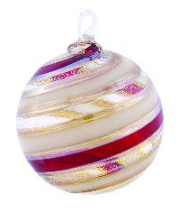 Glass Eye Studio Cranberry Delight Ornament