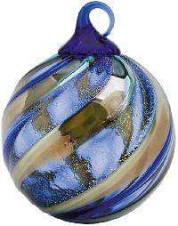 Glass Eye Studio Midnight Blue Ornament