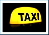 Round Taxi Top Light