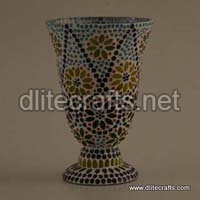 Color Glass Mosaic Candle Holder
