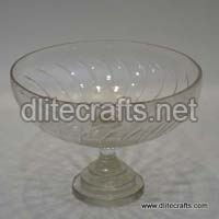 Glass Clear Cut Bowl